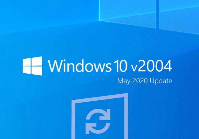 Windows 10 2004 bug